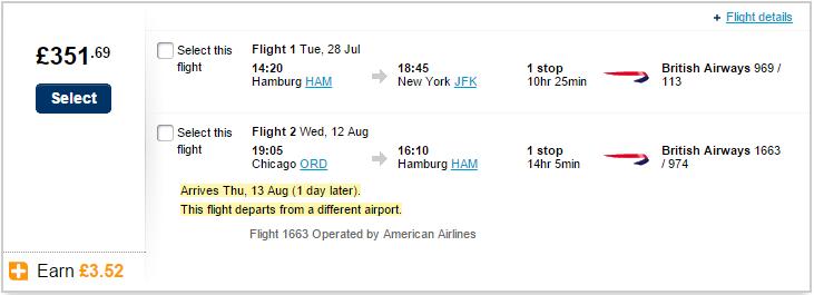 New York Flight
