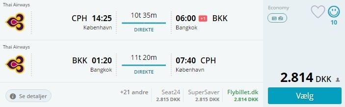 tilbud flybilletter