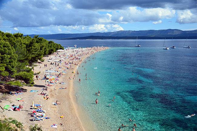 Fly til Kroatien