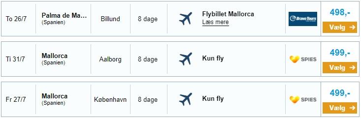 flybillet fra københavn til aalborg