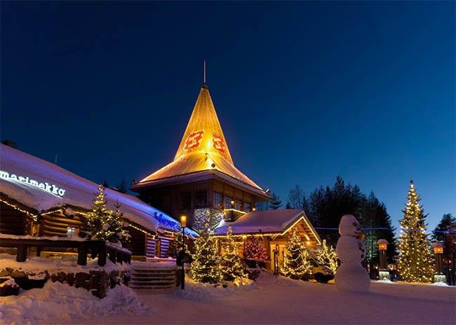 Julemandens landsby