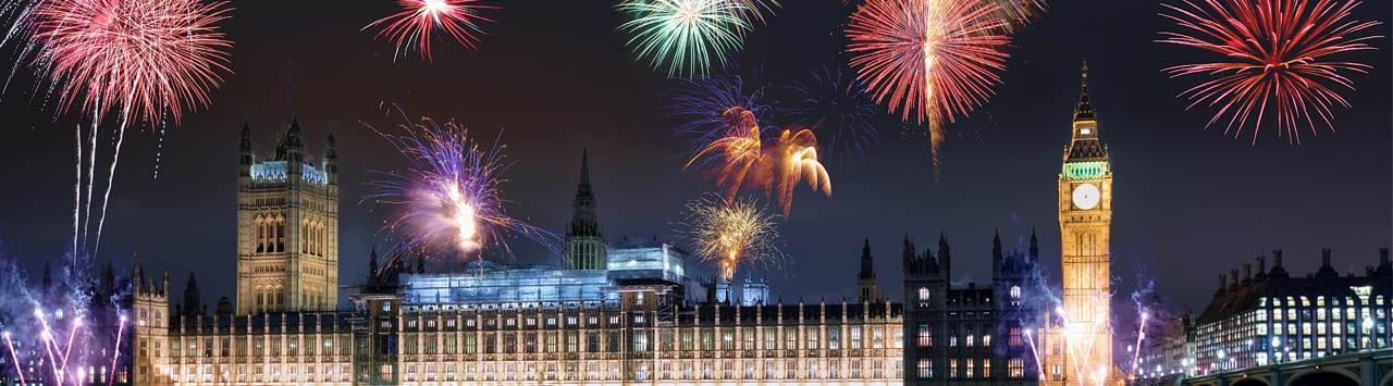 nytårsfest london