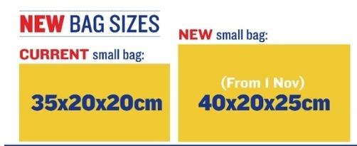 ryanair håndbagage indhold