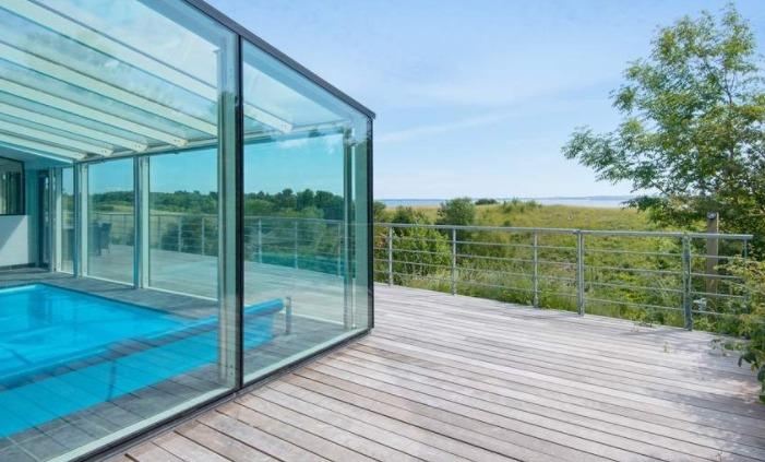 Sommerhuse med pool